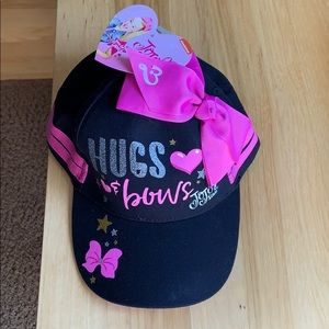 Girls one size JoJo Siwa baseball cap hat nwt